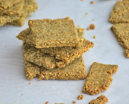 Grain-Free Paleo Crackers