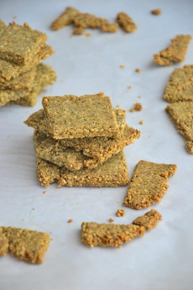 Grain-Free Paleo Crackers