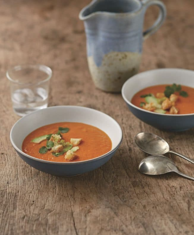 Vegan Red Bell Pepper Soup