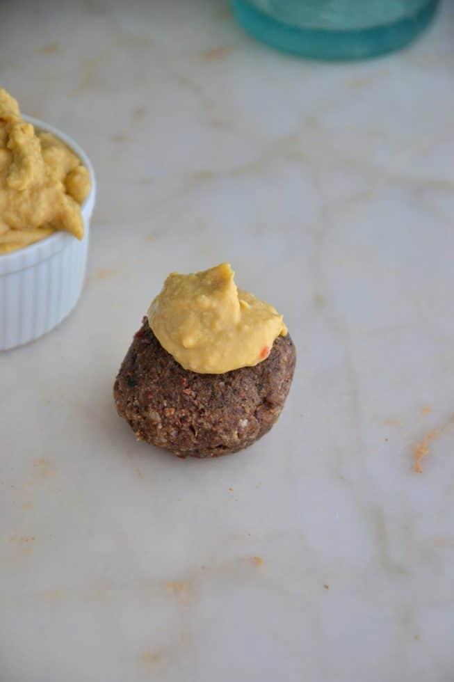 almond-falafel