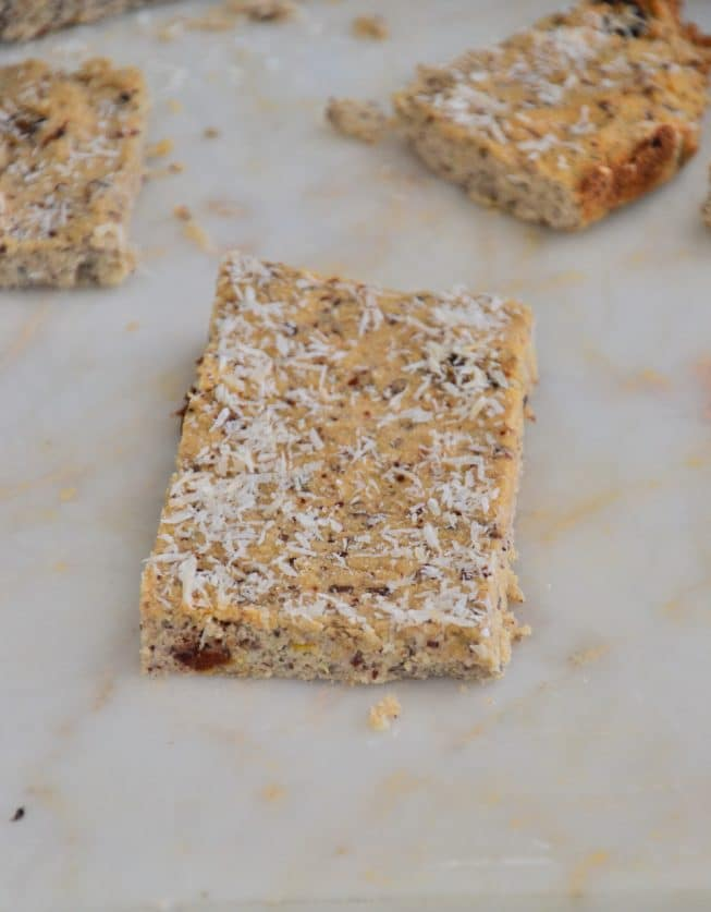 Grain-Free Coconut Shortbread Crackers