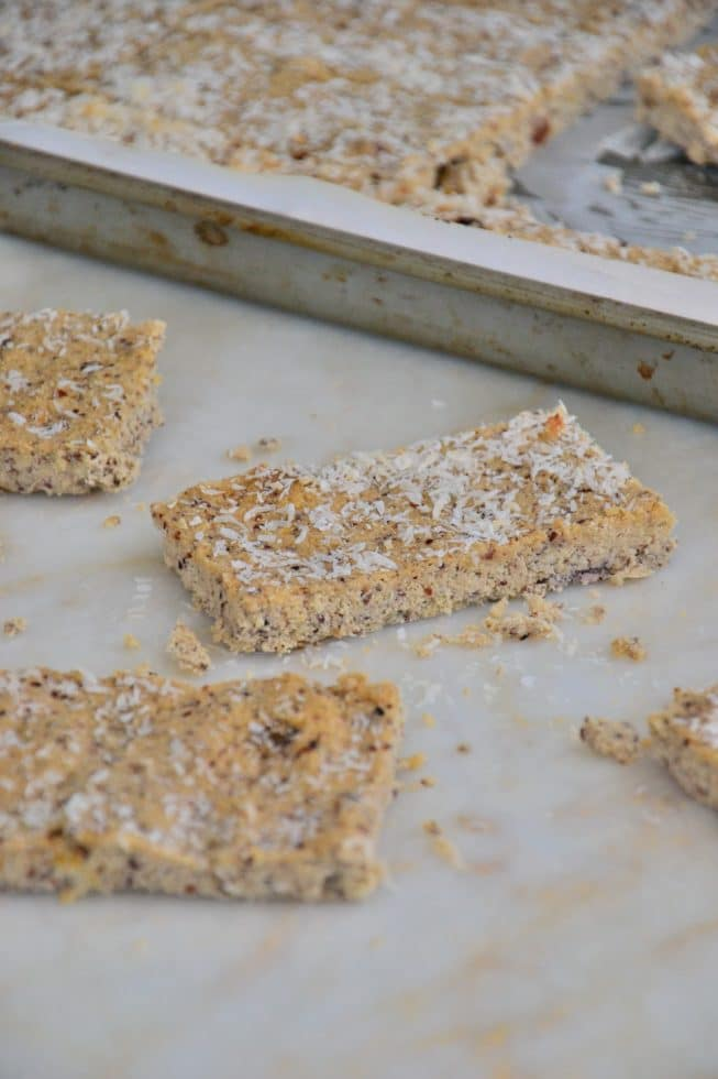 Grain-Free Coconut Shortbread Crackers