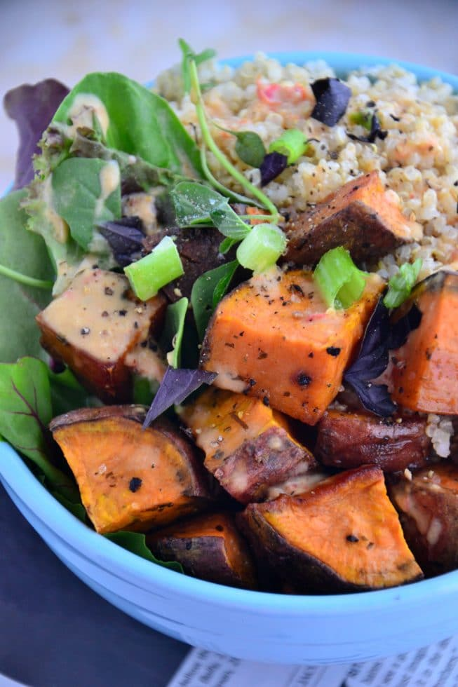 Sweet Potato Quinoa Recipe