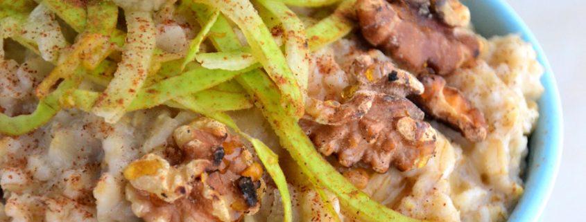 Inspiralized Oatmeal Recipe
