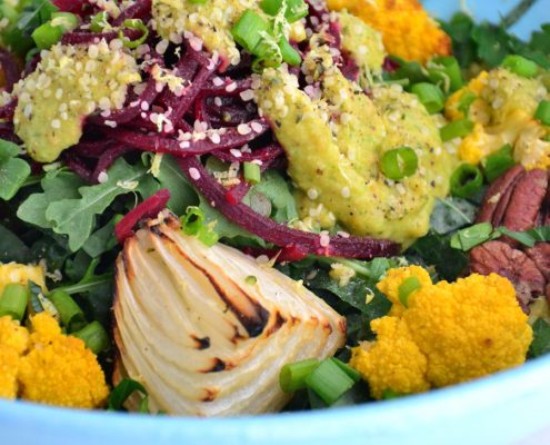 Roasted-Cauliflower-Salad