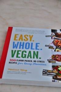 easy whole vegan cookbook