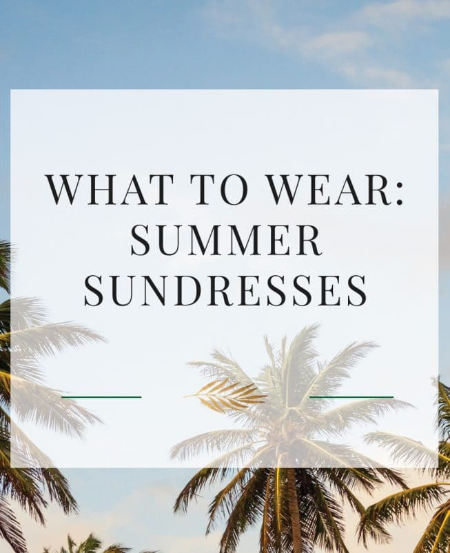 summer sundresses