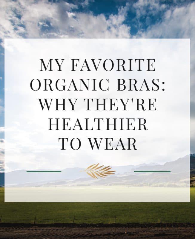 organic bras