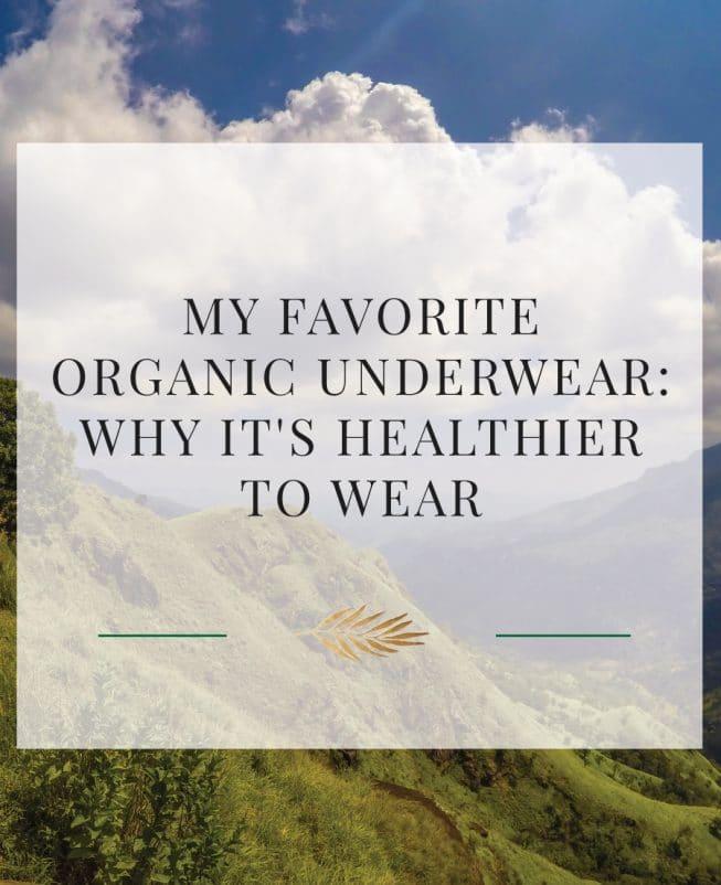 organic underwear