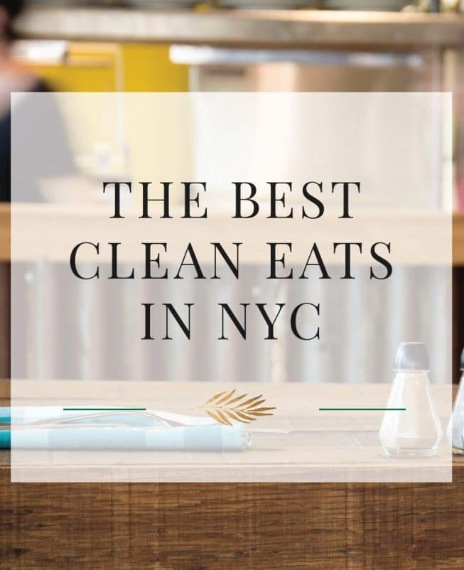 Here is a list of the best healthy restaurants in NYC in Manhattan for breakfast, lunch and dinner all year round.