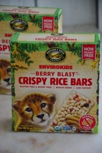 These Nature's Path Peanut-Free Crispy Rice Bars are great for kids to take to school and they're delicious!
