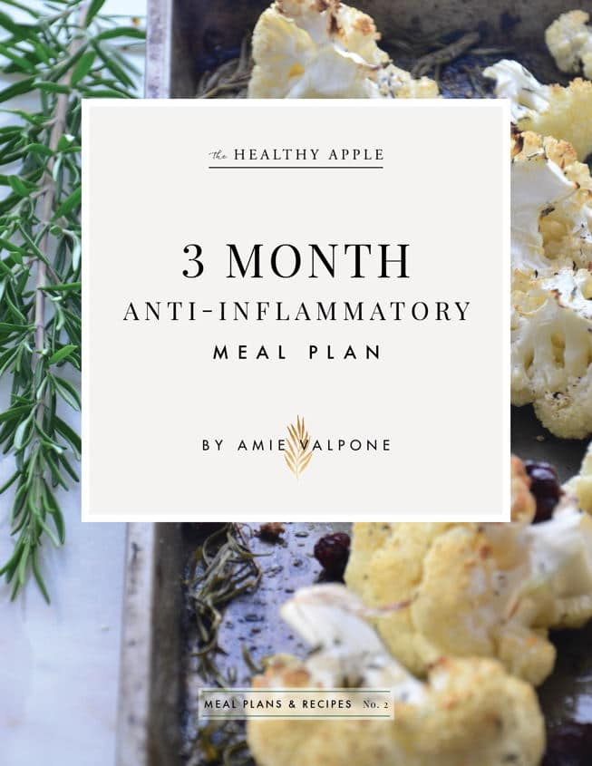 3 month anti-inflammatory program