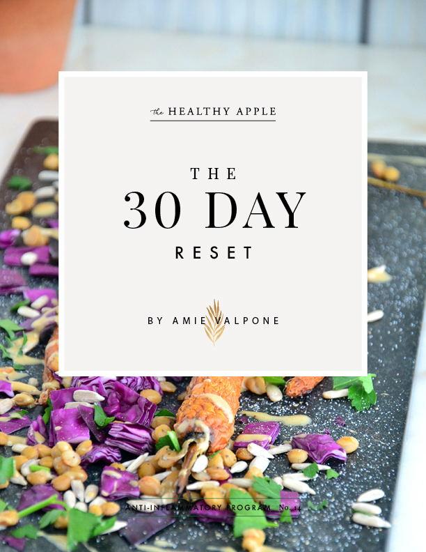 30 day reset amie valpone