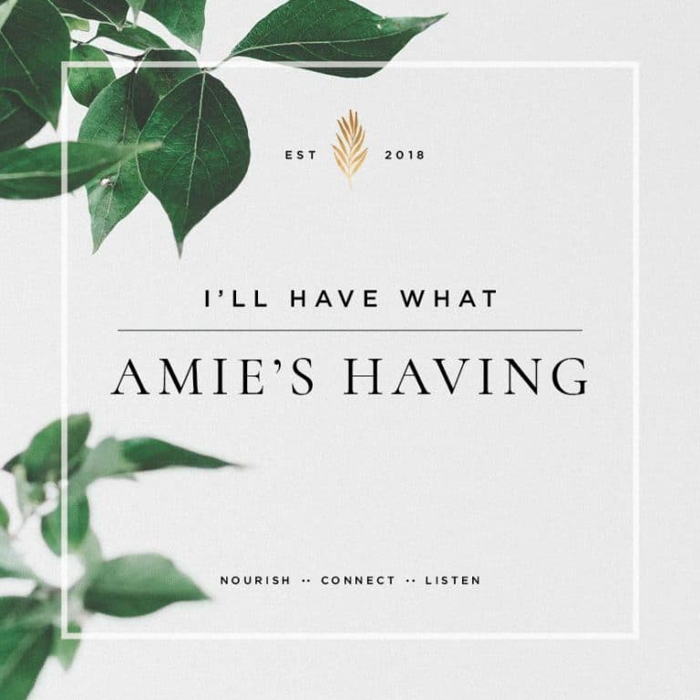 Audio by Amie Valpone talking about her story on I'll Have What Amie's Having