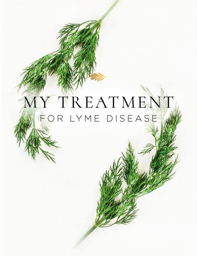 My Treatment for Lyme Disease - The Healthy Apple