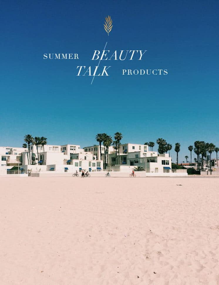 non-toxic beauty products for summer for your skin.