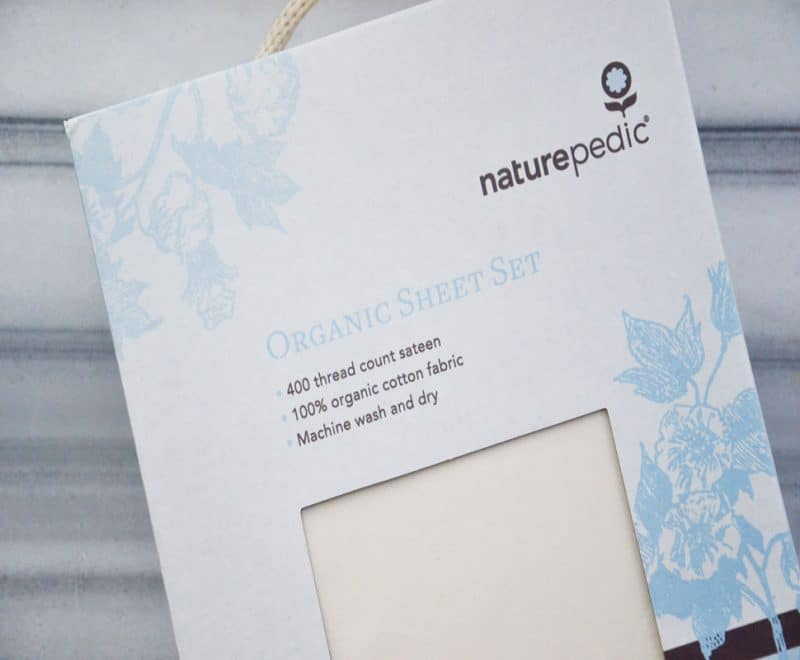 Naturepedic organic sheet set