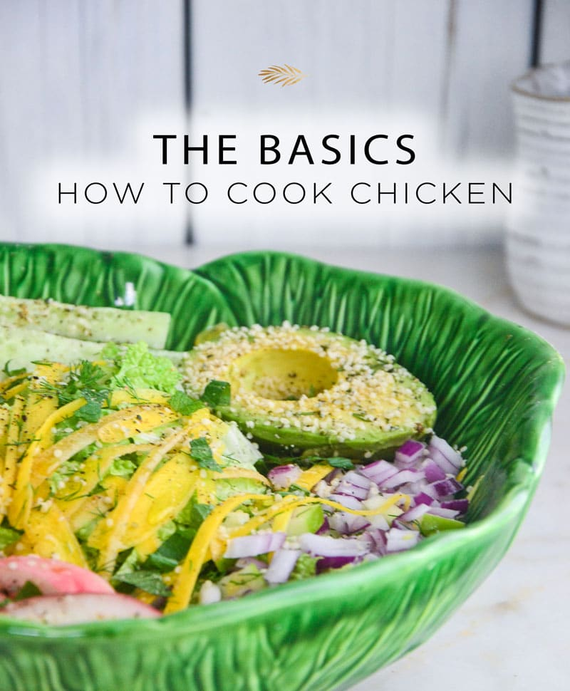 Learn to cook organic chicken