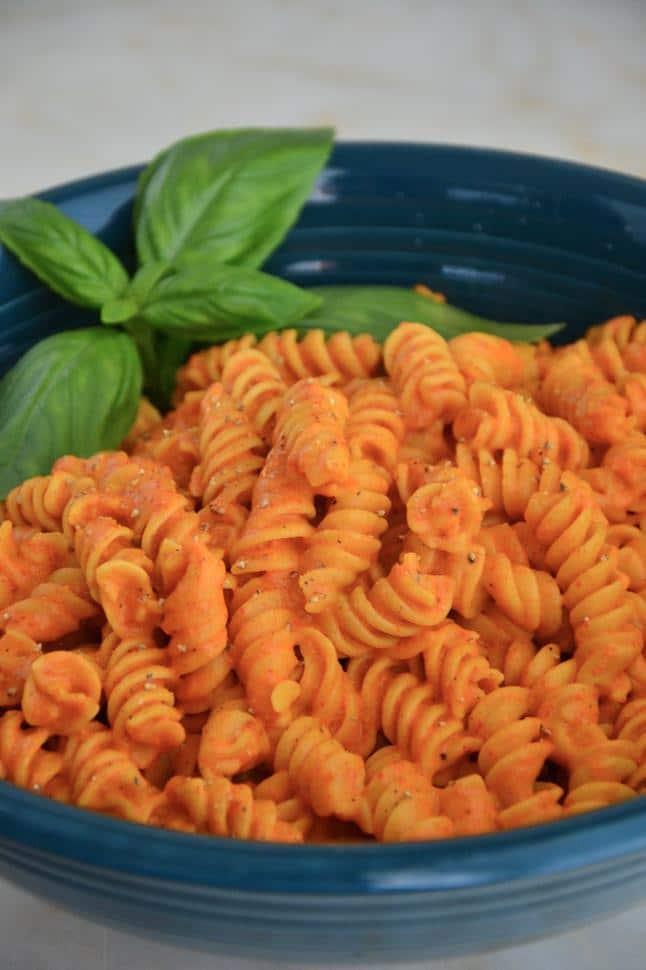 Gluten free chickpea pasta