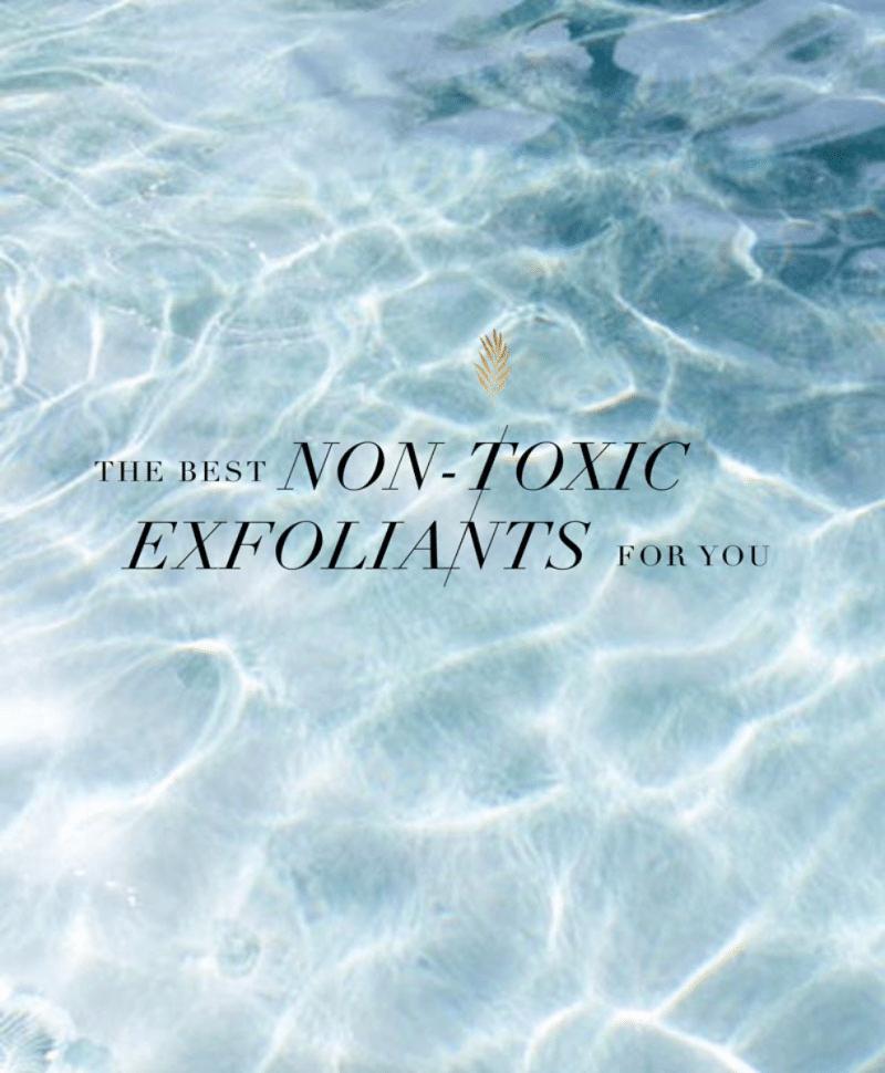 Non-toxic exfoliants