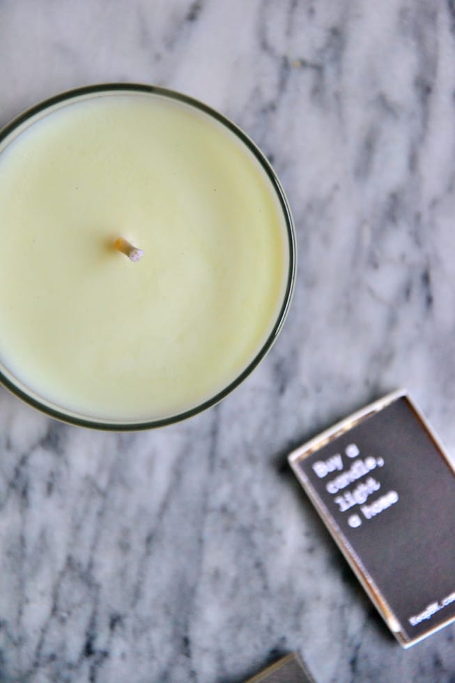 These non-toxic candles are healthy and safe.